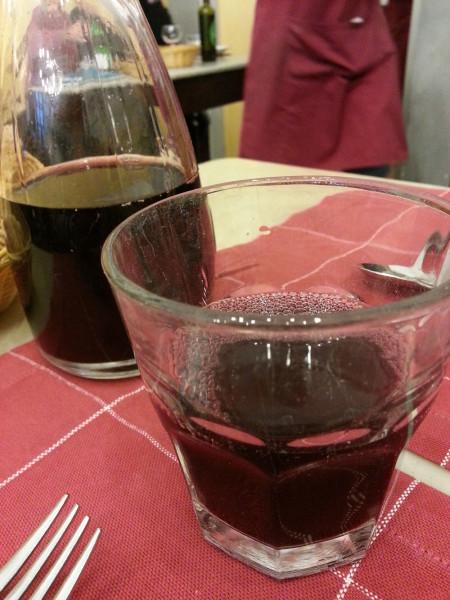 Un bicchiere di Chianti