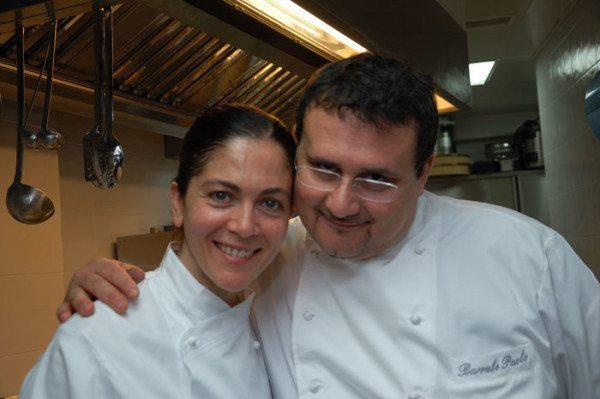 Lo Chef Paolo Barrale e la Lady Chef Rosanna Marziale