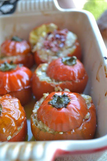 Melanzane-rosse-di-Rotonda-ripiena-con-sgombro-e-pomodorini-secchi