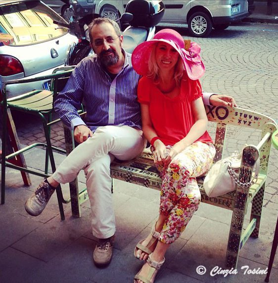 Con Giustino Catalano a Napoli
