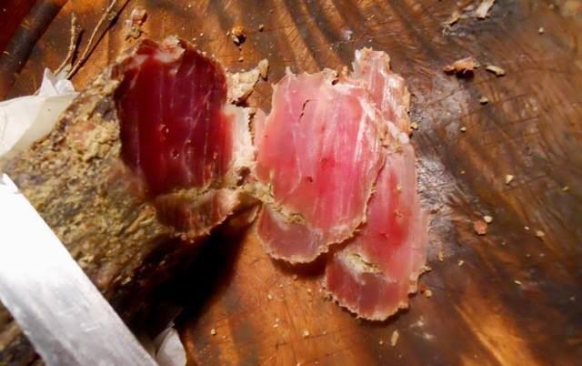 filetto di maiale stagionato