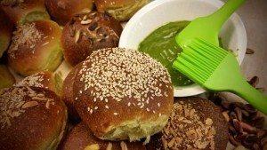 pan brioches al pistacchio