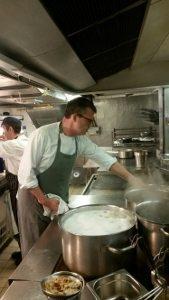 Jeremy in cucina
