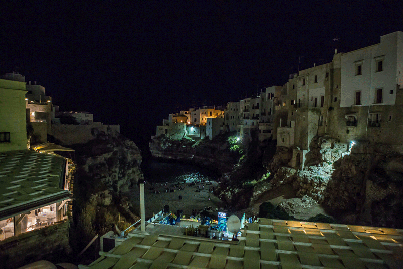 Polignano-by-night