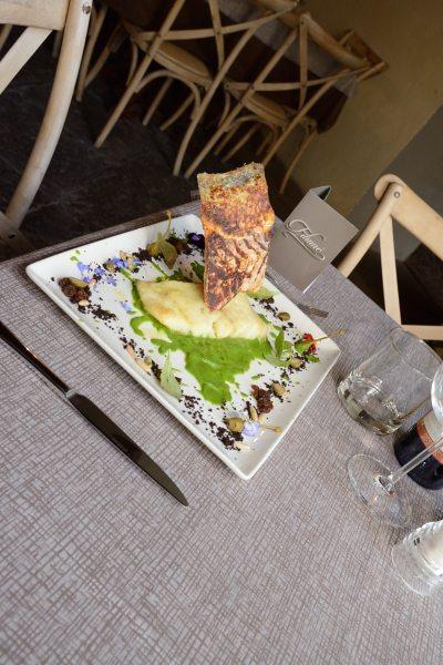 baccalà alla griglia su crema di scarola Alla Monachina (3)