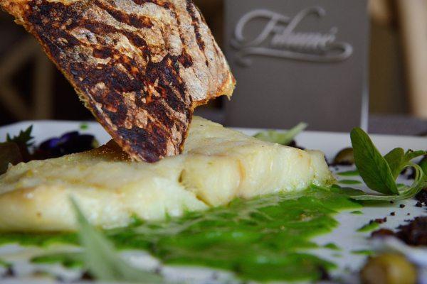 baccalà alla griglia su crema di scarola Alla Monachina (5)