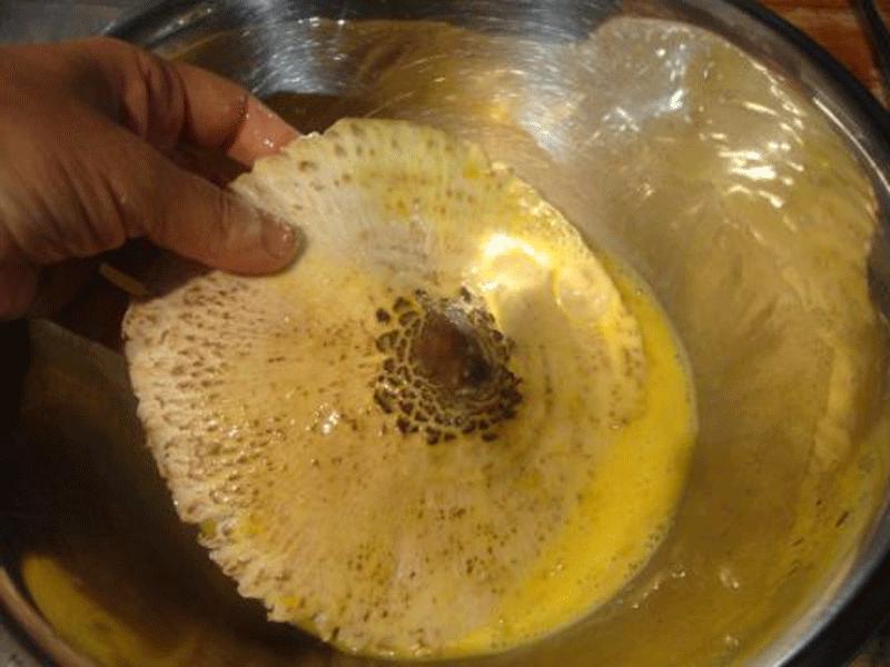 preparazione mazze di tamburo