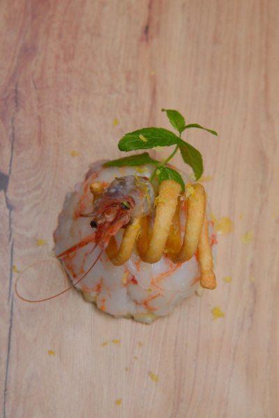 Risotto Carnaroli con gamberi di Mazara al profumo fresco di limone (12)