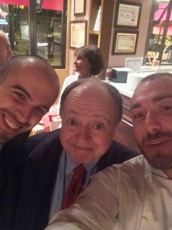 Selfie con il direttore Vizzari