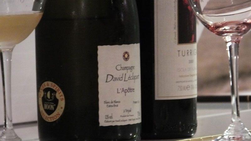 Champagne David Léclapart L'Apotre Blanc de Blanc extra brut