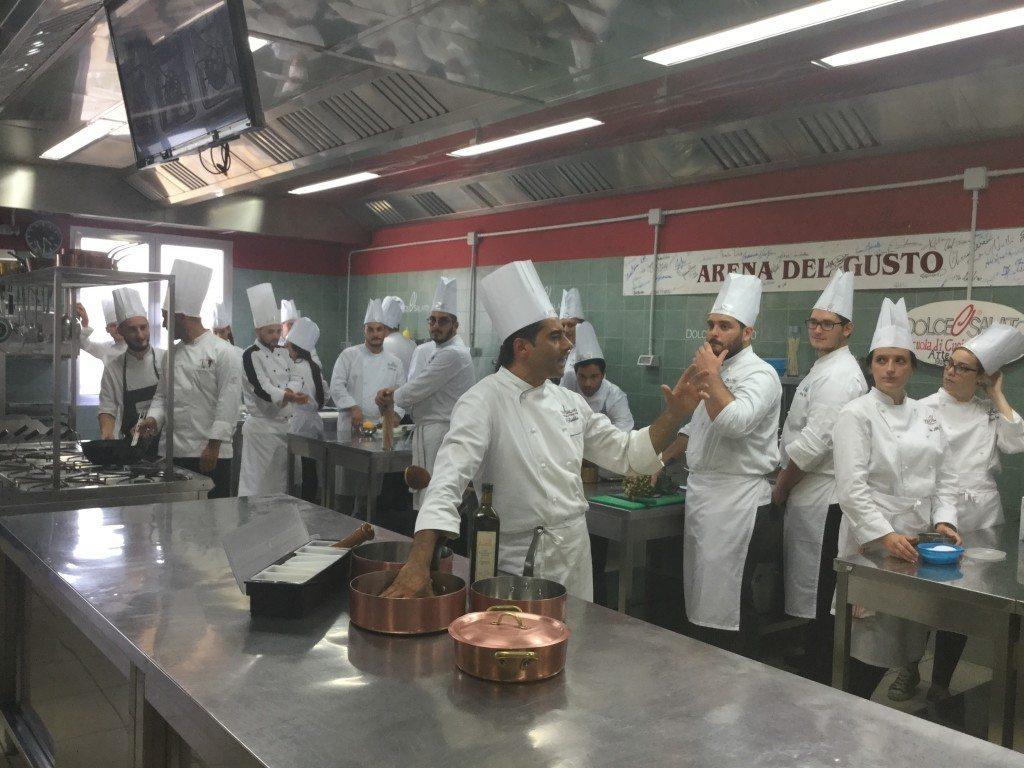 Allievi Laboratorio Cucina