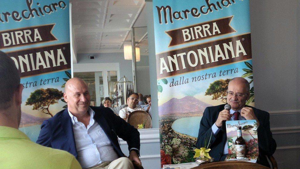 Birra Marechiaro. Antonio Pace