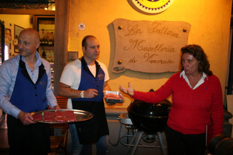 Ciro e Francesco Veneruso con Laura Gambacorta