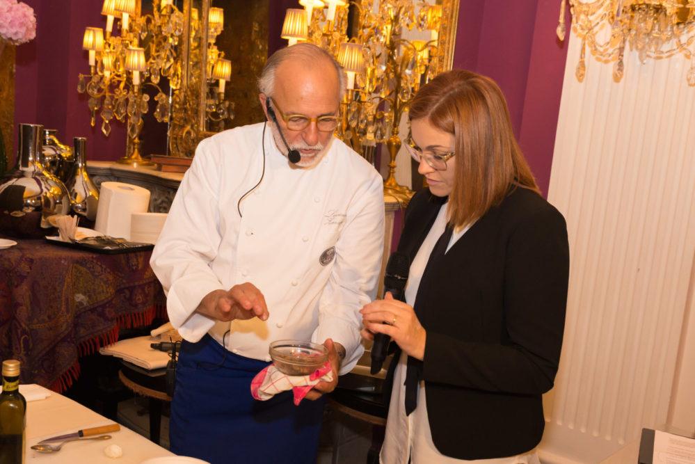 Chef Luciano Zazzeri ed Eleonora Cozzella