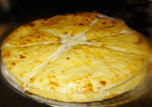 Imeruli khachapuri pizza georgiana