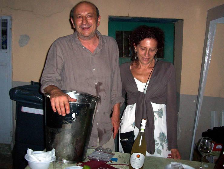 La Matta 2015 casebianche Pasquale Amitrano e Betty Iourio