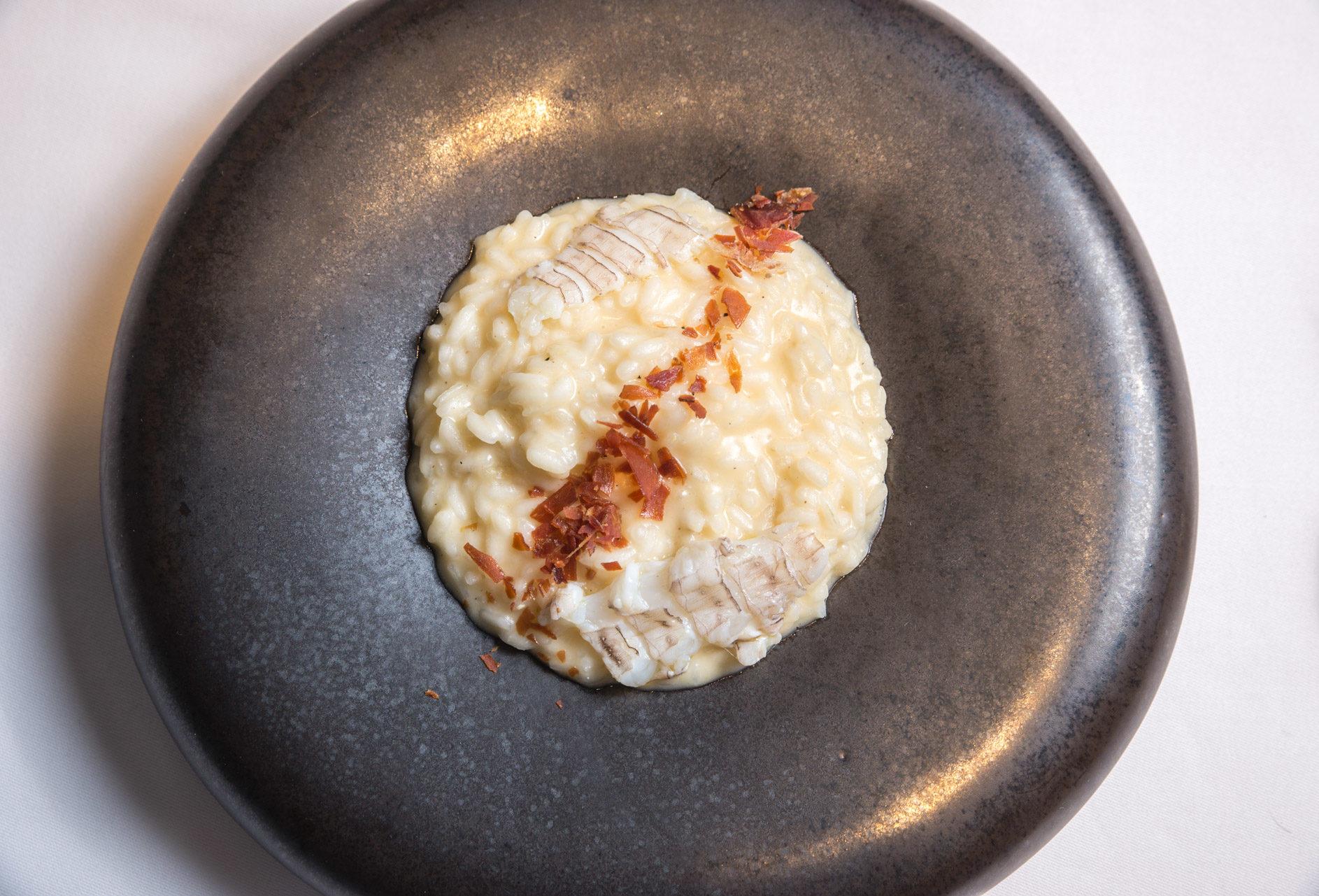 risotto canocchie