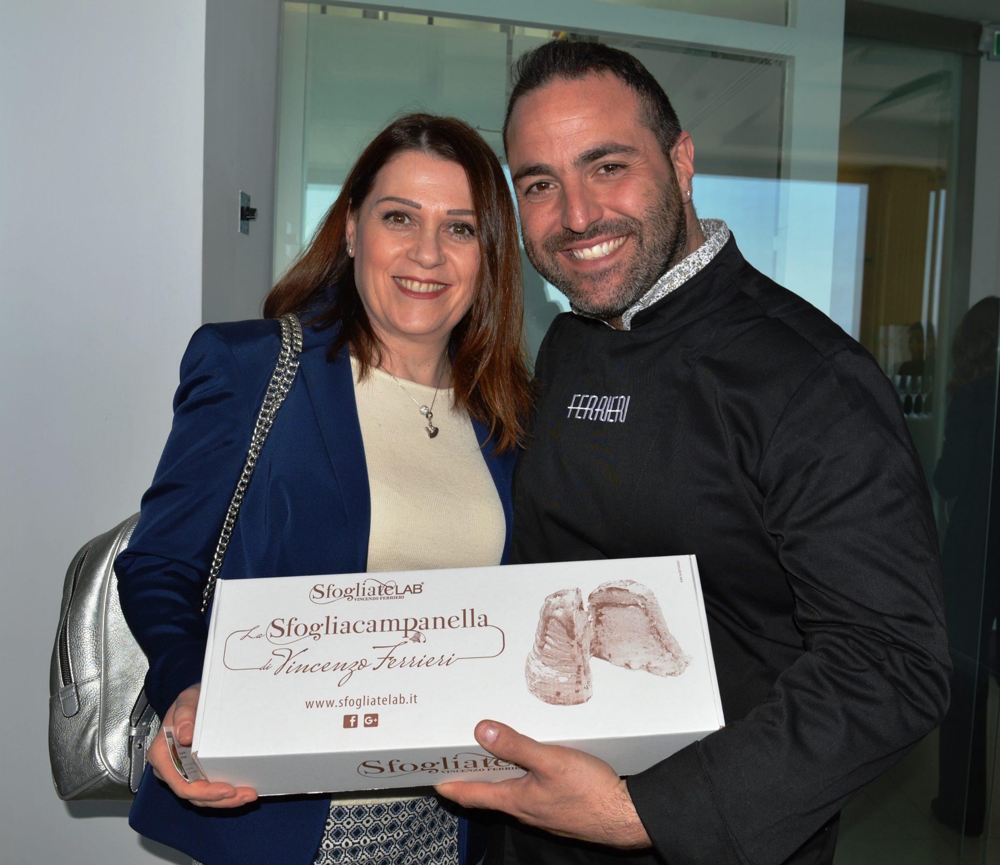 Vincenzo Ferrieri e Sonia Peronaci