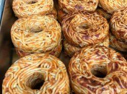 senza parole donuts spaghetti