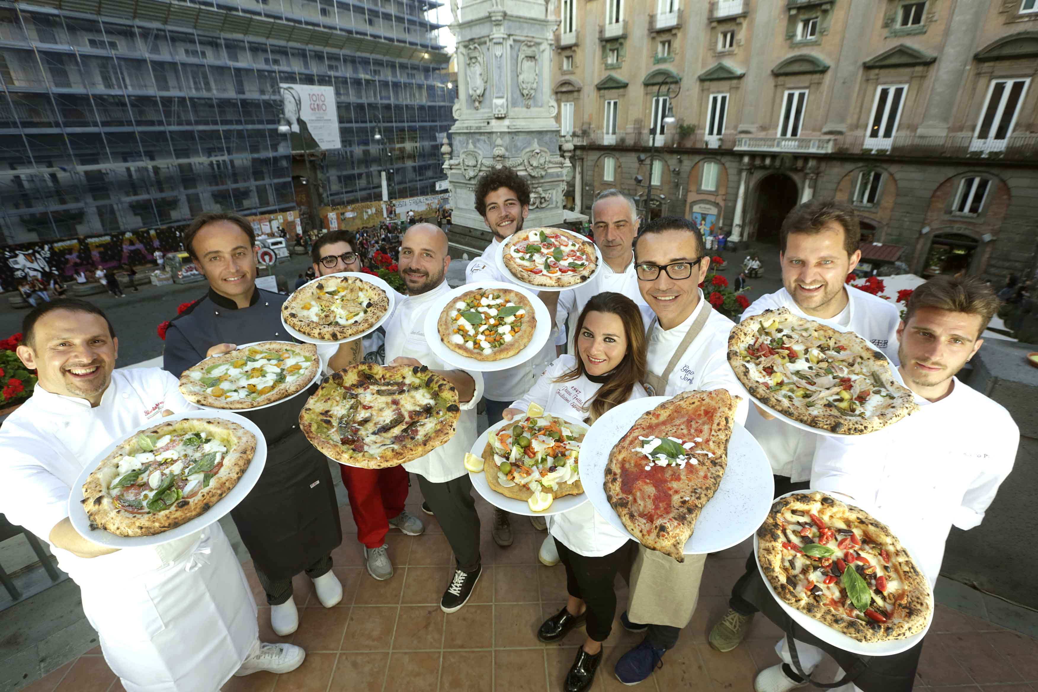 Una pizza per l'estate 2017
