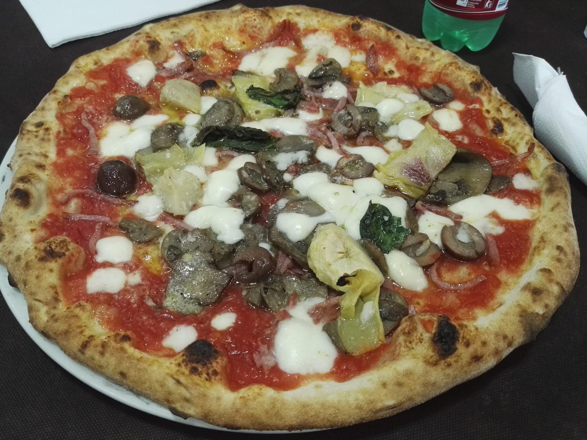 Pizzeria del Popolo Capricciosa