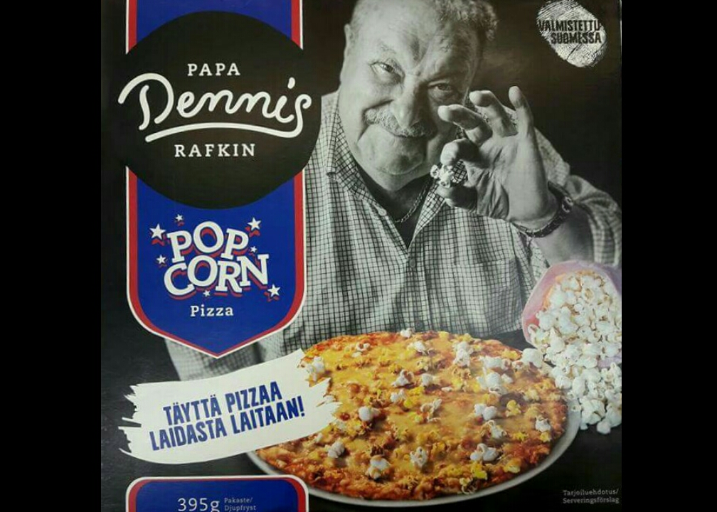 senza parole pizza pop corn