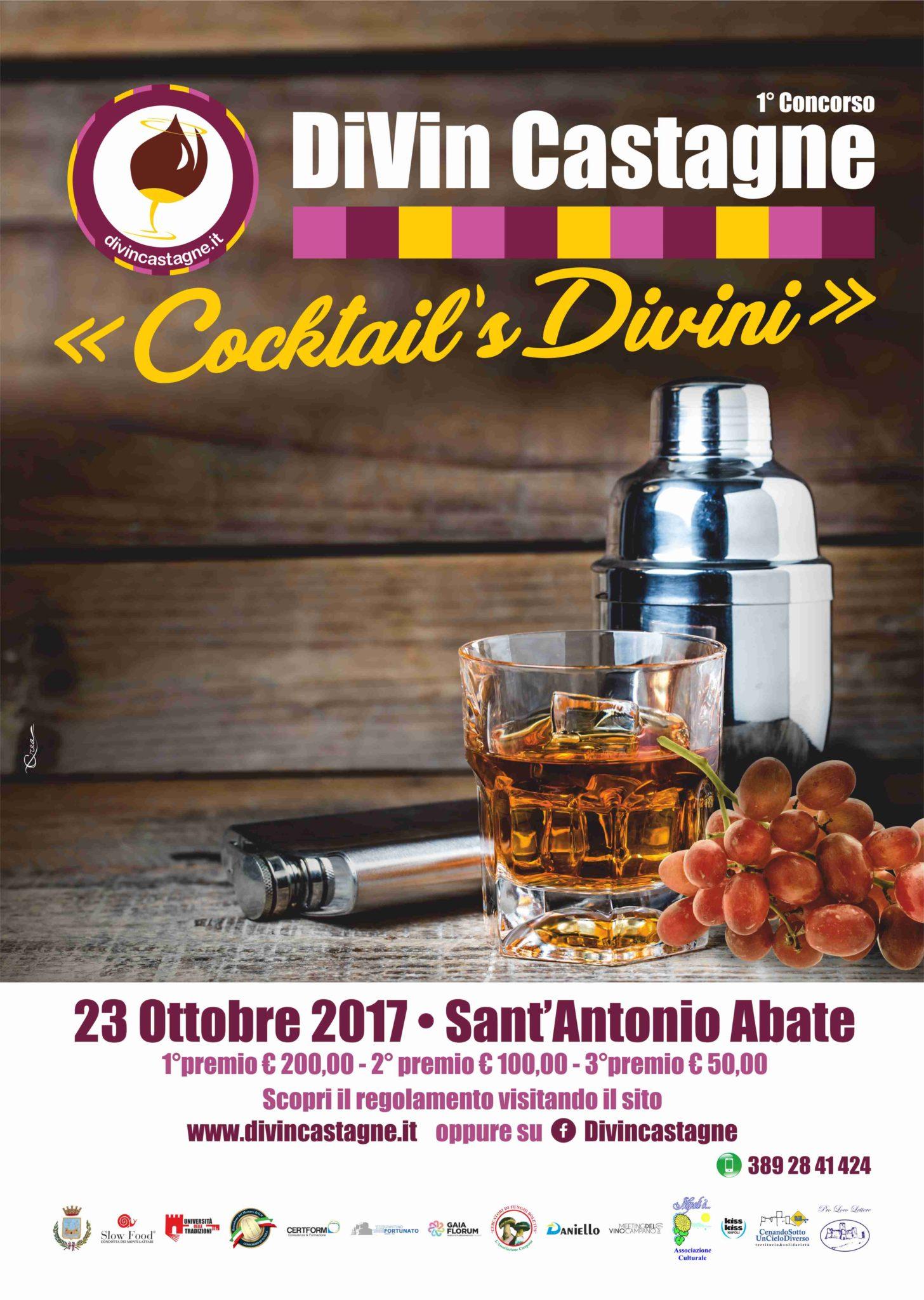 divincastagne COCKTAIL 2017_locandina
