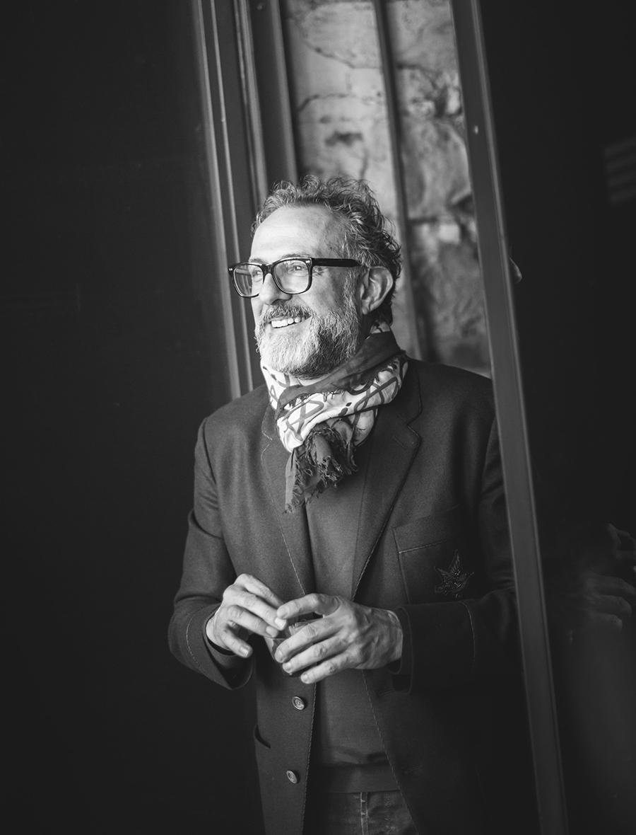 Massimo Bottura - Photo Credits Andrea Moretti