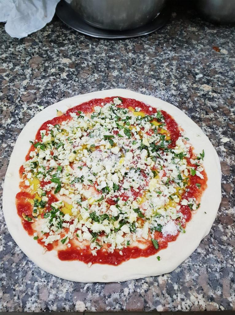 Pizza gnocco