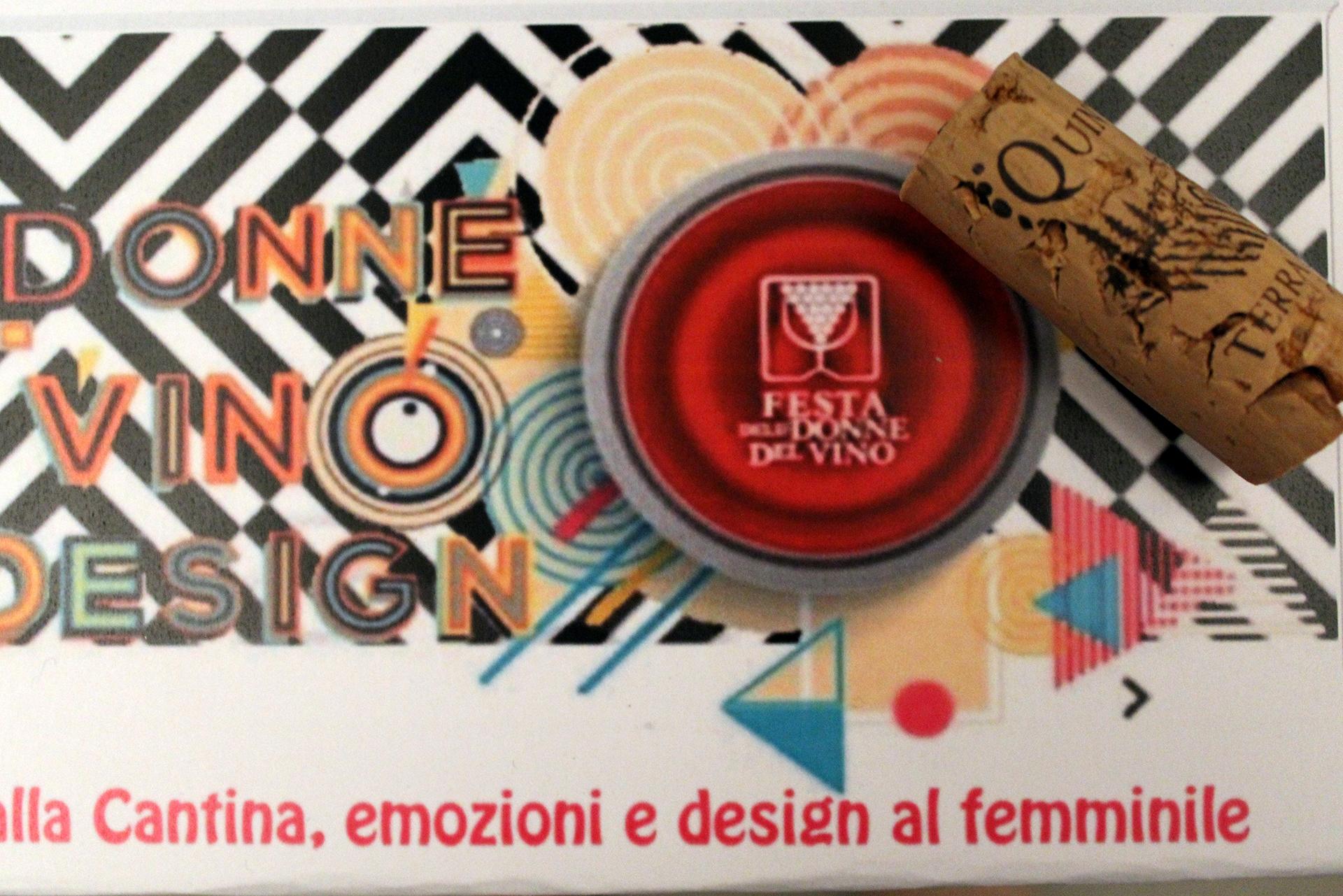 vino donne e design
