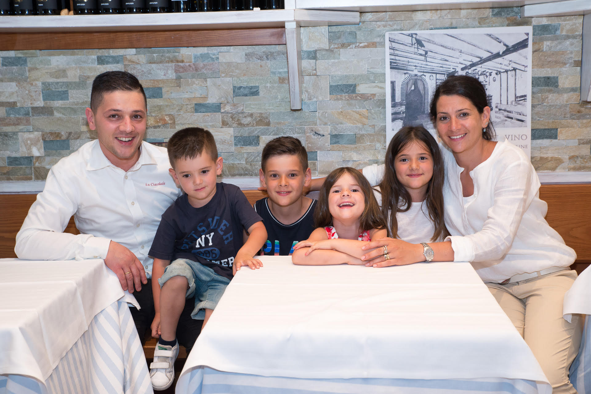Luigi Buondonno e famiglia