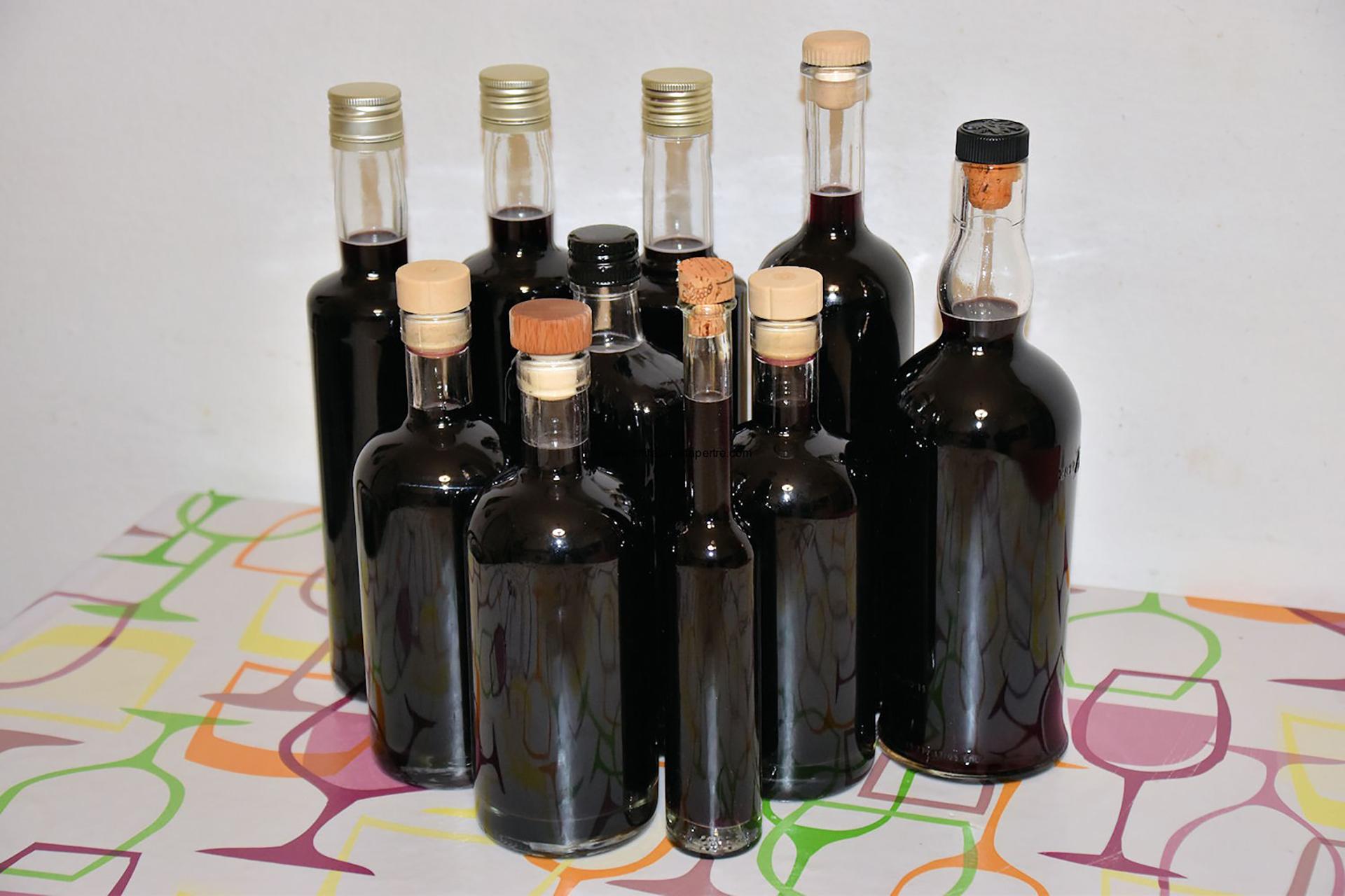 bottiglie mirto